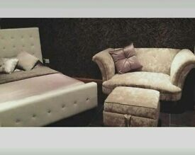 Dfs cuddle sofa immaculate condition, was £1,168