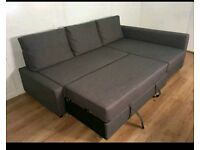 Beautiful Grey Corner Sofa Bed. Only £350 *Free delivery & Free Assembly*