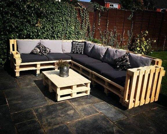 Handmade Corner Sofa Pallet Furniture Used In Allesley West Midlands Gumtree