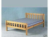 5ft king size pine bed frame