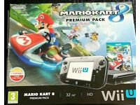 Wii U Mario kart bundle + 3 games