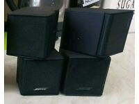 Bose Jewel cubes home cinema surround sound lifestyle acoustimass speakers