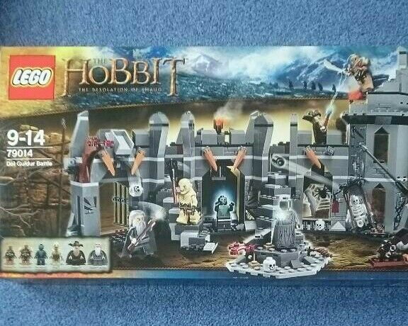 Lego hobbit brand new retired set 79014 dol guldor battle