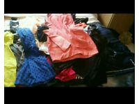 Huge bungle of clothes