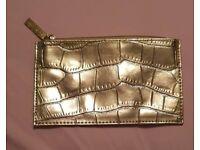 Estee Launder Makeup Bag Gold