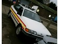 1987 granada show car (classic ford sierra cosworth escort)