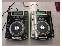 Numark ndx-200 CD decks