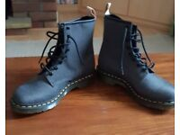 Brand new Doc Marten Grey Boots Size 6