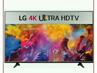 LG 49 INCH 4k Smart LED TV Boxed Ultra HD Model number: 49UF640V
