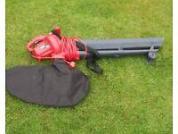 Garden blower / vacuum
