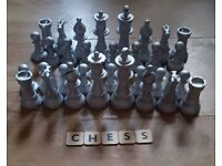Chess Pieces Ready to Paint