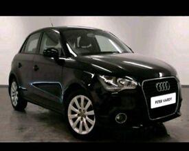 Audi A1 5dr 1.4 tfsi automatic black 2012