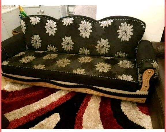 Black Cloth Sofa Bed For Sale In Sandwell West Midlands Gumtree