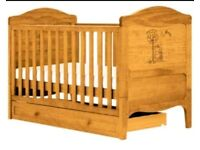 Winnie the Pooh Cot/Cot Bed