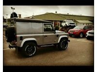 Land Rover Defender 90 Twisted (low miles) may px TD5 G wagon R8 911 GTR