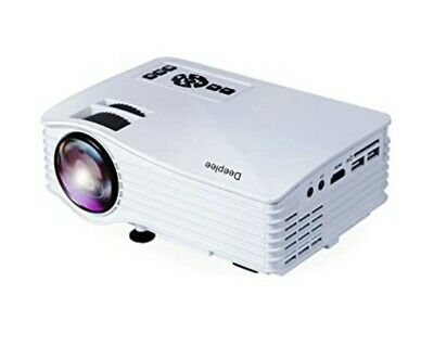 Deeplee mini projector, remote control, cables, 1080P