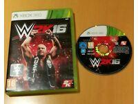 Xbox 360 W2K16 game