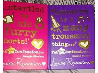Set of 2 Louise Tennyson books for teens