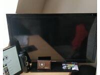 TOSHIBA 40 inch led 1080p flat screen TV