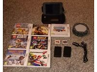 Nintendo 3ds xl red big bundle
