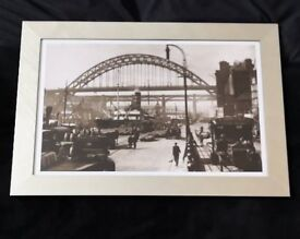 Newcastle quayside pucture, brand new. 720mm x 500mm