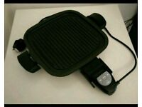 Electric Health Grill Griddle - Counter top indoor BBQ