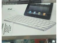 APPLE BLUETOOTH KEYBOARD AND CHARGING DOCK NEW