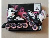 Girls SFR Vortex inline skates