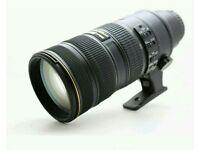 Nikon 70-200mm 2.8 vrii
