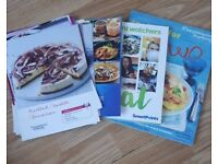Weightwatches books and recipes