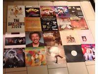 Vinyl Records singles and lps job lot