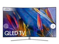 "Samsung QE65Q7C Curved QLED HDR 1500 4K Ultra HD Smart TV, 65"""