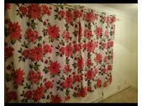As New Floral Curtains