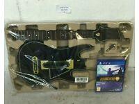 GUITAR HERO LIVE SONY PS4 WIRELESS GUITAR & GAME BUNDLE RRP £99.99.