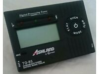 Ashland TG-85 digital processing tuner guitar/bass /violin