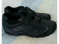 Boys Clarks shoes size 1F
