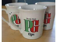 Vintage / Retro PG Tips Mugs Brooke Bond Wildlife Collection