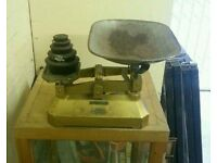 Vintage avery gpo scales