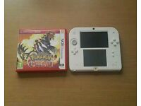 Nintendo 2DS with Pokemon Omega Ruby