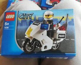 Lego 7235 police bike