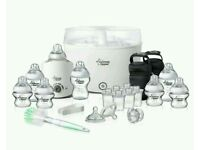 BRAND NEW Tommee Tippee Electric Steriliser and Extras