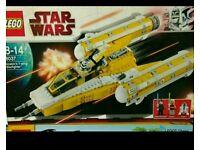 Lego Star Wars 8037 Y Wing Starfighter