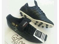 *Brand new* Adidas Blackout Copa Mundial football boots - size 9