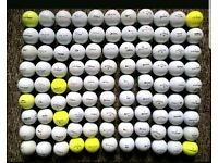 Assorted golf balls for sale