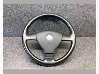 Vw mk5 golf leather steering wheel