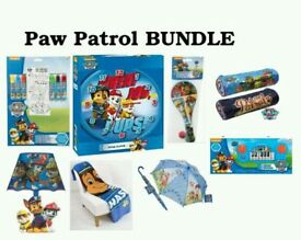 paw patrol bundle toys chase marshall blanket clock lamp colour fun piano umbrella lamp