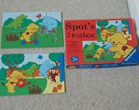 Spot puzzles