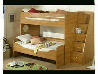 Gautier solid bunk beds