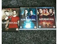 Supernatural dvds series 4, 5 and 6