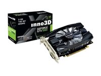Inno 3D 1060 3gb Nvidia single fan with samsung ram